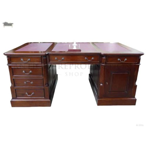 Terrific Partner Executive Office Desks Antique Reproduction Shop Download Free Architecture Designs Embacsunscenecom