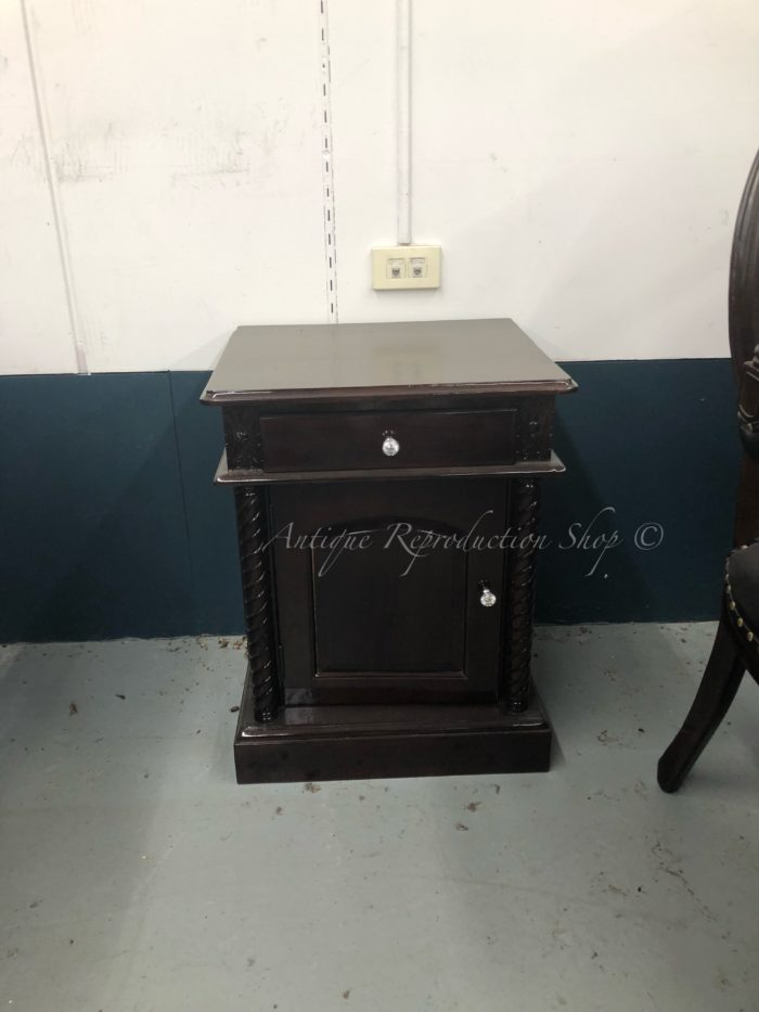 AUTO-DRAFT - A close up of a suitcase - Nightstand